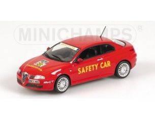 Minichamps 400120360 ALFA ROMEO GT SAFETY CAR RED 1:43 Modellino