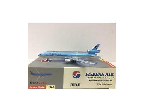 Starjets Aereoplano Hl 7317 Sjkal048 Korean Air Md 11 1 500 Modellino