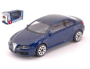 BBURAGO BU30180B ALFA ROMEO GT 2003 DARK BLUE 1:43 Modellino