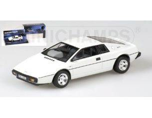 MINICHAMPS 400135220 LOTUS ESPRINT WHITE 007 JAMES BOND Modellino