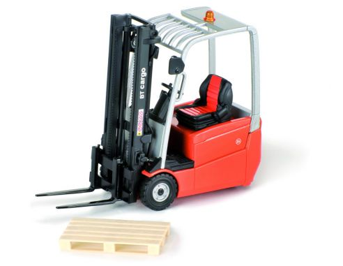 Ros RS00146 MULETTO BT BRANDED FORKLIFT ORANGE 3 WHEELS 1:23 Modellino