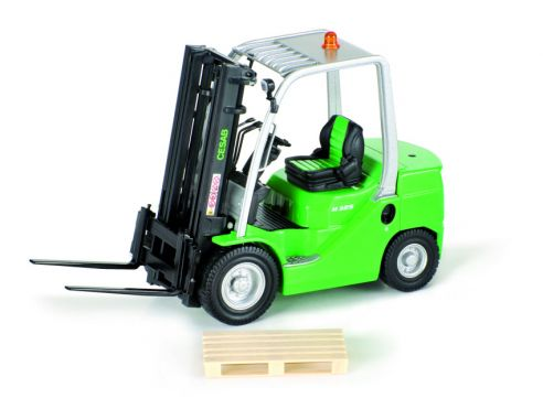 Ros RS00147 MULETTO M 325 CESAB BRANDED FORKLIFT 1:23 Modellino