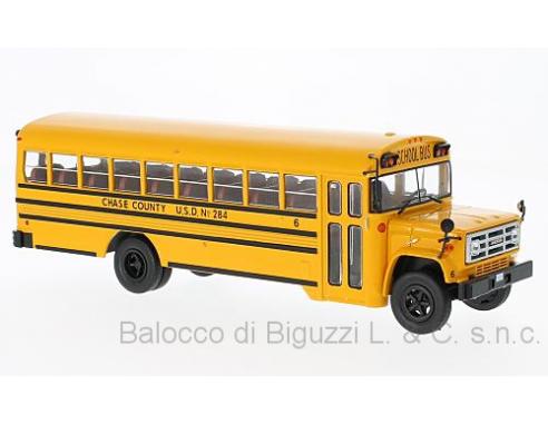 Bburago BUS004 GMC 6000 SCHOOLBUS 1990 REPRODUCTION 1:43 Modellino