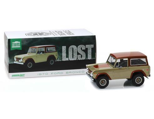 Greenlight GREEN19057 FORD BRONCO LOST TV SERIES 2004-2010 BROWN 1:18 Modellino