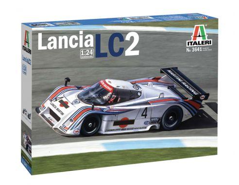 Italeri IT3641 LANCIA LC2 MARTINI SPORT PROTOTIPI ANNI 80 KIT 1:24 Modellino