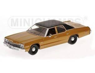 Minichamps PM400144772 DODGE MONACO 1974 GOLD MET.1:43 Modellino