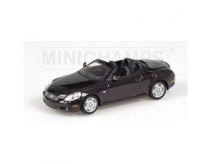 Minichamps PM400166132 LEXUS SC 430 2001 PURPLE 1:43 Modellino