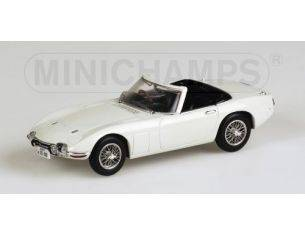 MINICHAMPS 400166230 TOYOTA 2000 GT WHITE 007 JAMES BOND Modellino