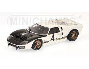Minichamps PM400668484 FORD GT40 MKII N.4 SPA 1966 1:43 Modellino