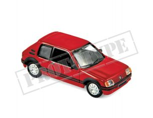 Norev NV471716 PEUGEOT 205 GTi 1.9 1987 VALLELUNGA RED 1:87 Modellino