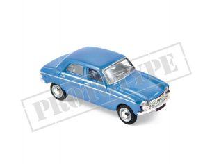 Norev NV472414 PEUGEOT 204 1966 PERVENCHE BLUE 1:87 Modellino