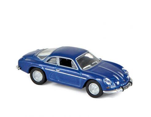 Norev NV517816 ALPINE A110 1973 BLUE METALLIC 1:87 Modellino