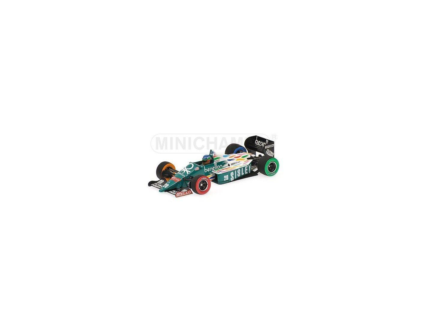 Minichamps pm400860020 benetton g berger 1986 usa gp for Benetton usa online shop