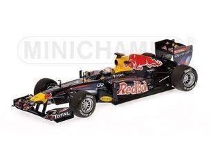Minichamps PM410110101 RED BULL S.VETTEL 2011 WINNER MALAYSIAN GP 2011 1:43 Modellino