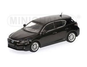 Minichamps PM410166000 LEXUS CT200H 2010 BLACK 1:43 Modellino