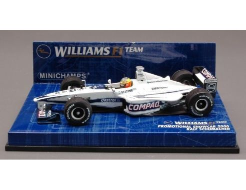 Minichamps PM430000079 WILLIAMS R.SCHUMACHER'00 SHOW C.1:43 Modellino