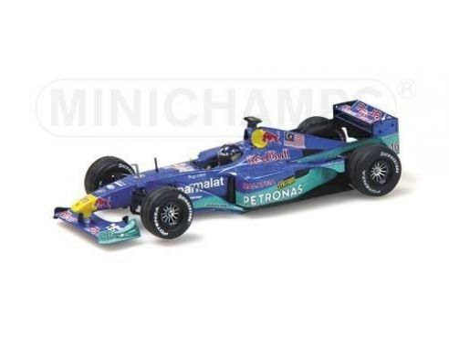 Minichamps PM430000116 RED BULL SAUBER DINIZ'00 MALAY.1:43 Modellino