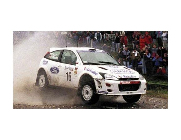 MINICHAMPS 430008916 FORD FOCUS WRC SOLBERG MILLS 2000 Modellino
