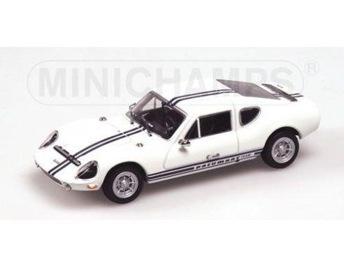 MINICHAMPS 430010121 MELKUS PNEUMANT RS 1000 WHITE Modellino
