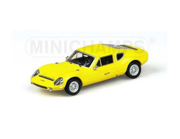 MINICHAMPS 430010122 MELKUS RS 100 1972 YELLOW Modellino