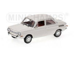 Minichamps PM430015204 NSU 1000 L 1964 WHITE 1:43 Modellino