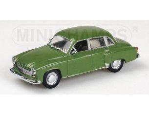 MINICHAMPS 430015902 WARTBURG A 311 1958 GREEN Modellino
