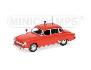 MINICHAMPS 430015991 WARTBURG A 311 1956 FIRE BRIGADE Modellino