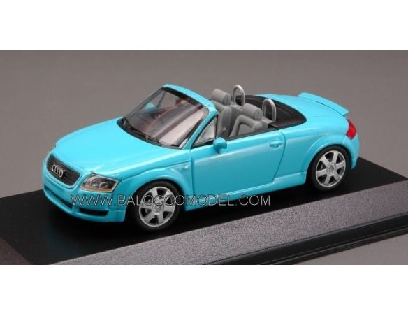 Minichamps PM430017233 AUDI TT ROADSTER TURQUOISE 1:43 Modellino