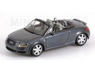 MINICHAMPS 430017235 AUDI TT ROADSTER 2000 BLUE METALLIC Modellino
