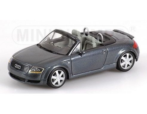MINICHAMPS 430017235 AUDI TT ROADSTER 2000 BLUE METALLIC Modellino