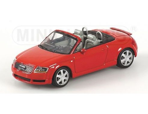 MINICHAMPS 430017237 AUDI TT ROADSTER 1999 RED Modellino