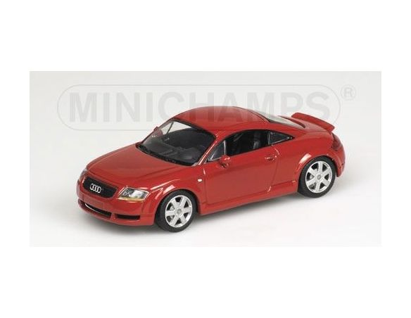 MINICHAMPS 430017250 AUDI TT COUPE' 2000 RED Modellino