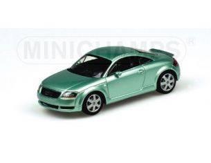MINICHAMPS 430017251 AUDI TT COUPE' GREEN METALLIC Modellino