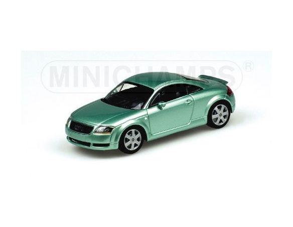 MINICHAMPS 430017251 AUDI TT COUPE' GREEN METALLIC Modellino