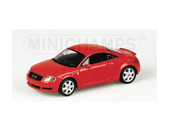 MINICHAMPS 430017252 AUDI TT COUPE' 1999 RED Modellino