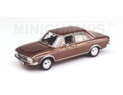 MINICHAMPS 430019101 AUDI 100 SALOON 1969 BROWN METALLIC Modellino