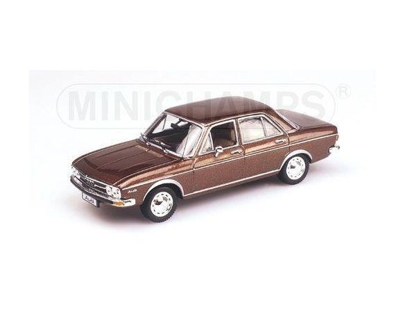 MINICHAMPS 430019101 AUDI 100 SALOON 1969 BROWN METALLIC Modellino