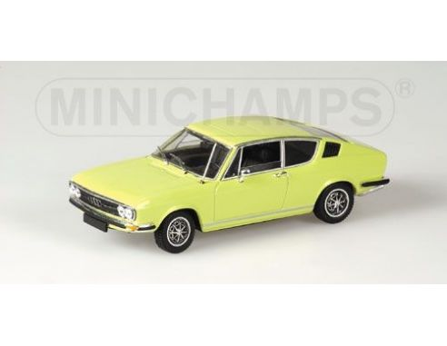 Minichamps 430019125 AUDI 100 COUPE' S 1969 YELLOW Modellino