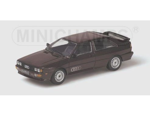MINICHAMPS 430019422 AUDI QUATTRO 1981 RED METALLIC Modellino