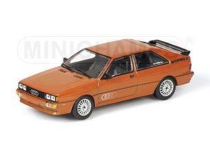 MINICHAMPS 430019426 AUDI QUATTRO 1981 BROWN METALLIC Modellino