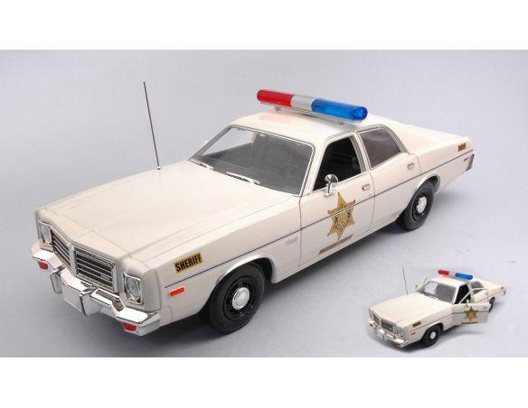GREENLIGHT GREEN19092 DODGE CORONET 1975 HAZZARD COUNTY SHERIFF 1:18 Modellino