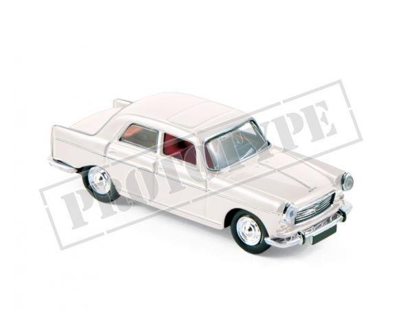 NOREV NV474447 PEUGEOT 404 1968 COUCHEVEL WHITE 1:87 Modellino