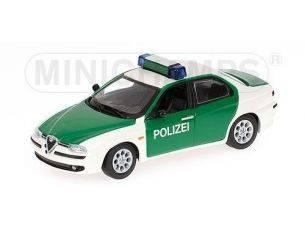 Minichamps PM430120790 ALFA ROMEO 156 POLIZEI 1:43 Modellino