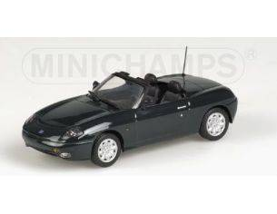 MINICHAMPS 430121935 FIAT BARCHETTA 1996 DARK GREEN Modellino