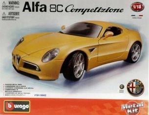 Bburago BU15042 ALFA ROMEO 8 C 2007 KIT 1:18 Kit Auto