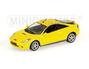 MINICHAMPS 430168924 TOYOTA CELICA 2000 YELLOW Modellino