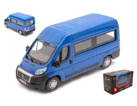 BBURAGO BU30330BL FIAT DUCATO BUS BLUE 1:43 Modellino