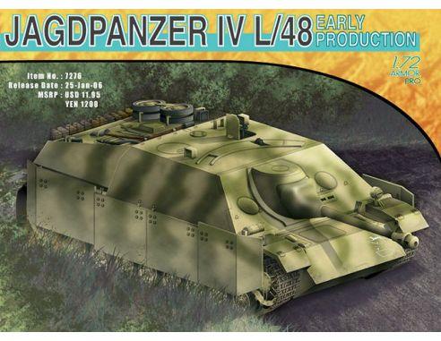 DRAGON D7276 JAGDPANZER IV L/48 KIT 1:72 Modellino