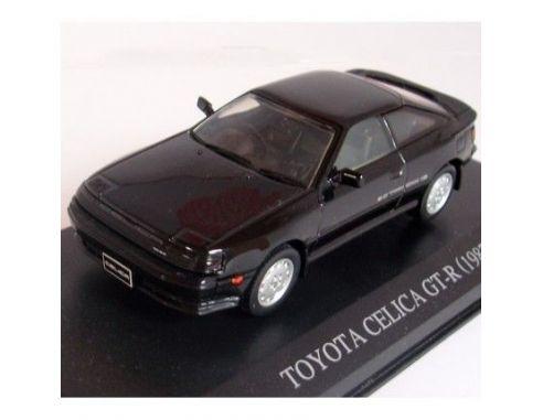 Aoshima 74169 TOYOTA CELICA GT FOUR BLACK '87 1/43 Modellino