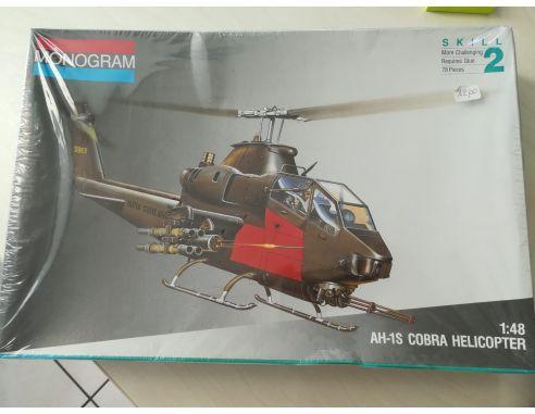 Monogram 5444 AH-1S COBRA HELICOPTER  KIT 1:48 Modellino SCATOLA ROVINATA